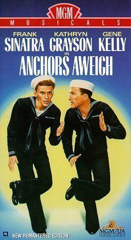 Anchors Aweigh (film) Amazoncom Anchors Aweigh VHS Frank Sinatra Kathryn Grayson