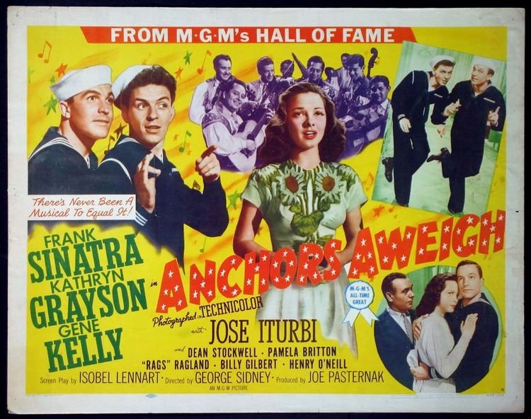 Anchors Aweigh (film) Anchors Aweigh 1945 Journeys in Classic Film