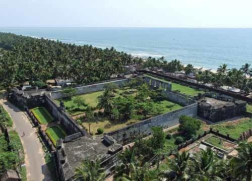 Anchuthengu Fort Anjengo Anchuthengu Fort Trivandrum