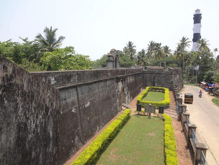 Anchuthengu Fort Anjengo Fort and Anjengo Lighthouse Anchuthengu Fort or An Flickr