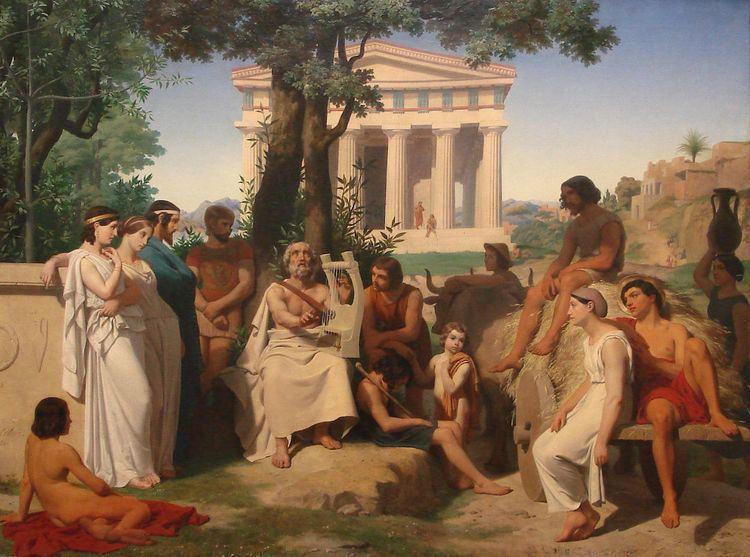 Ancient accounts of Homer