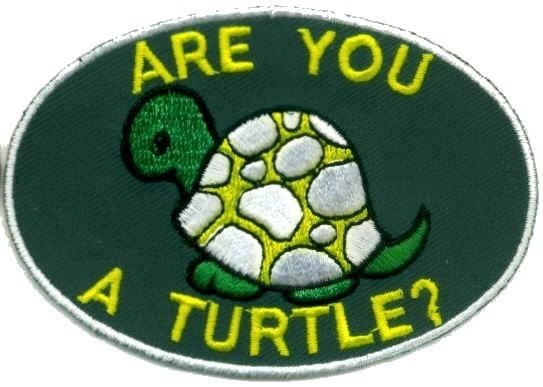 Ancient and Honorable Order of Turtles Blade and Grip Are You a Turtle