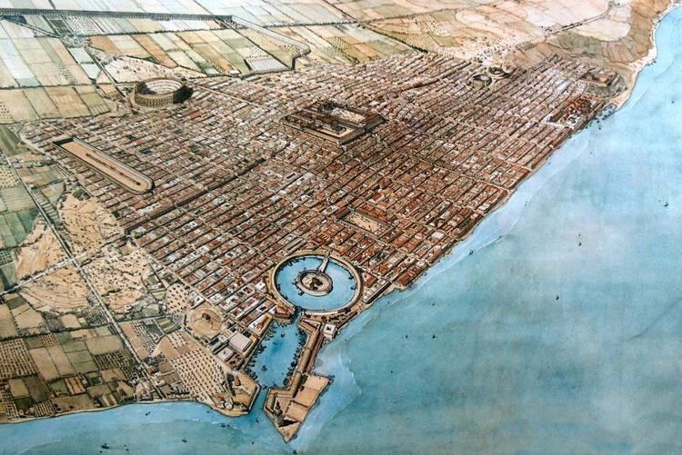 Ancient Carthage CARTHAGE An ancient city founded by the Phoenicians it became the