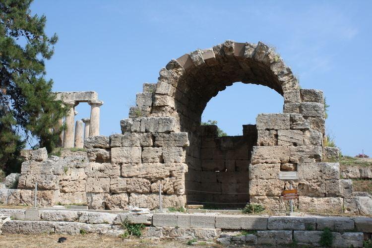 Ancient Corinth Corinth Ancient History Encyclopedia