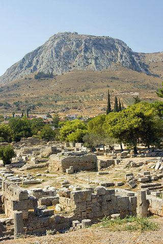 Ancient Corinth corinthacrojpg