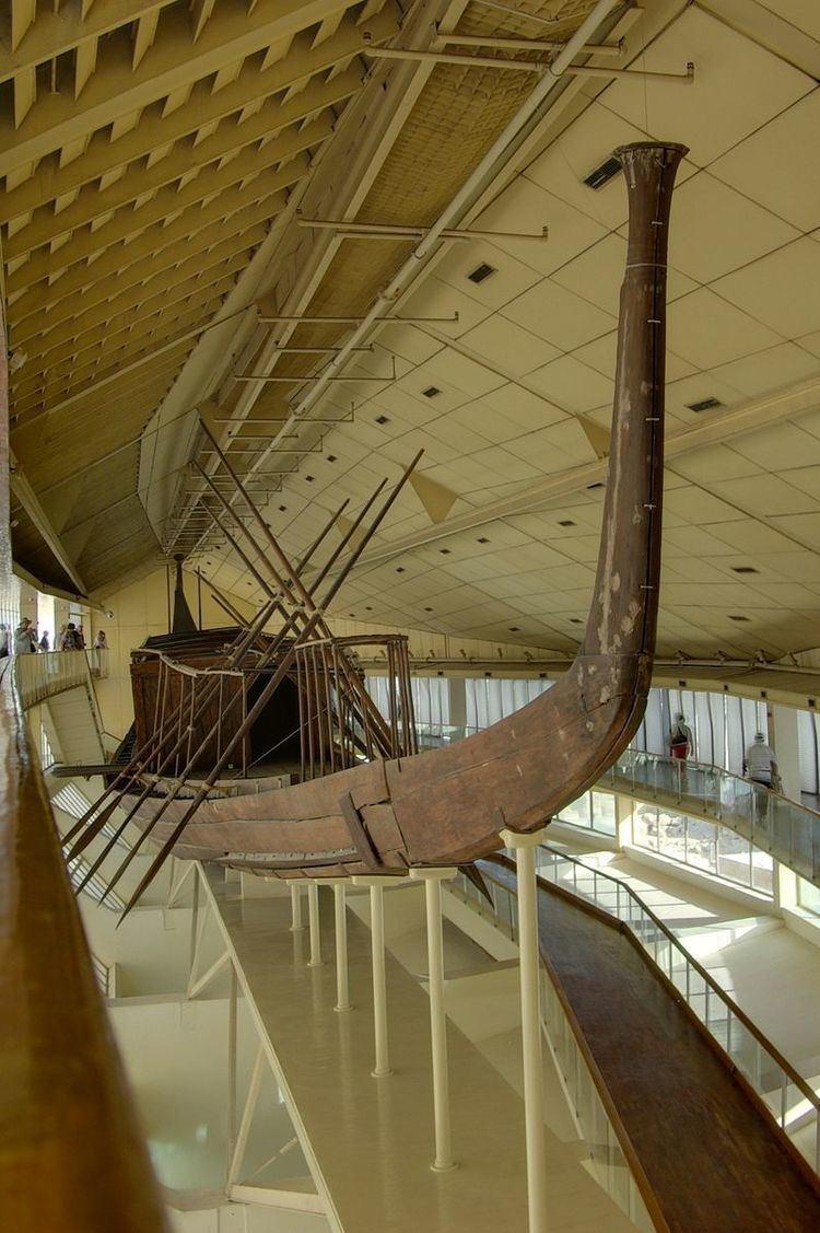 Ancient Egyptian solar ships