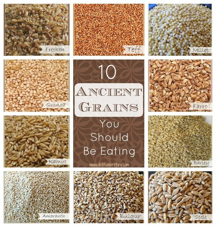 Ancient grains 10 Ancient Grains You Should Be Eating Your Choice Nutrition