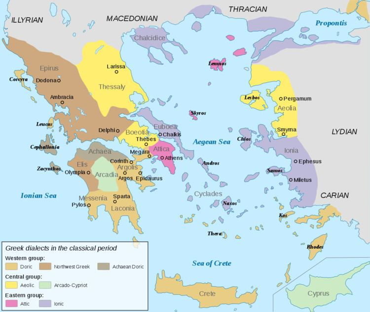 Ancient Greek dialects