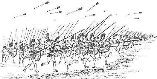 Ancient Macedonian battle tactics