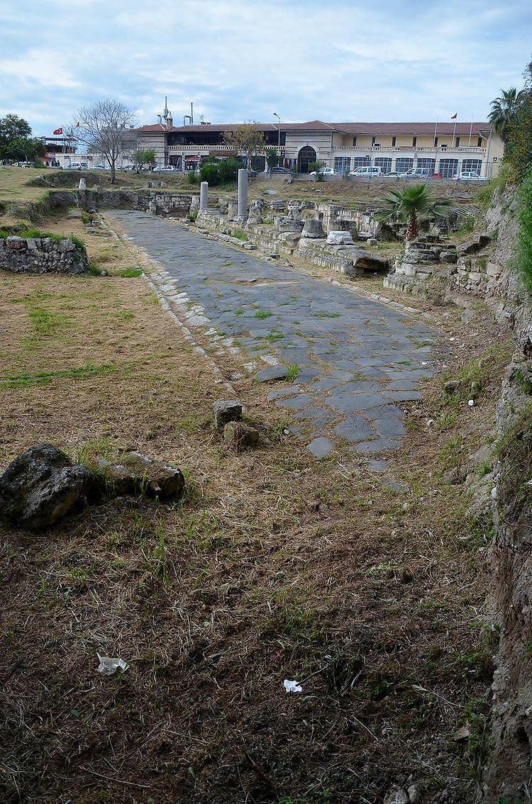 Ancient road in Tarsus