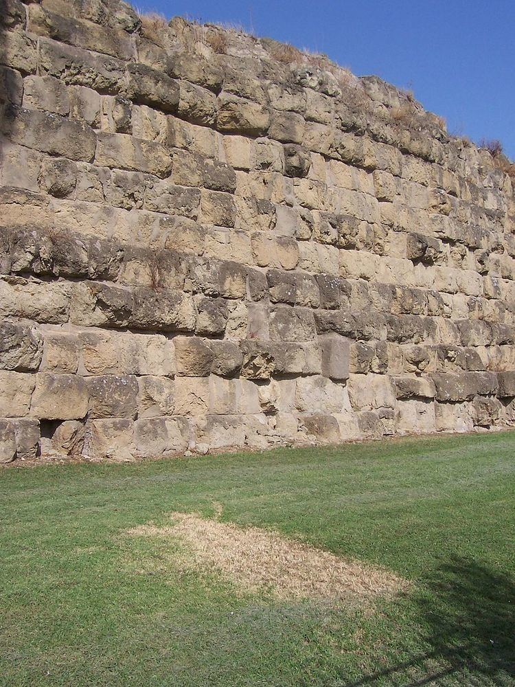 Ancient Roman defensive walls