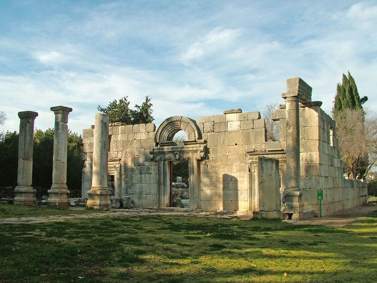 Ancient synagogues in Israel