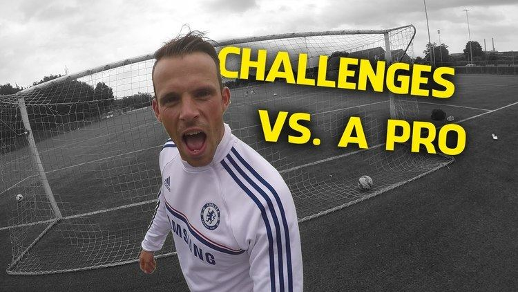 Anco Jansen Challenges vs a dutch pro footballer Anco Jansen YouTube