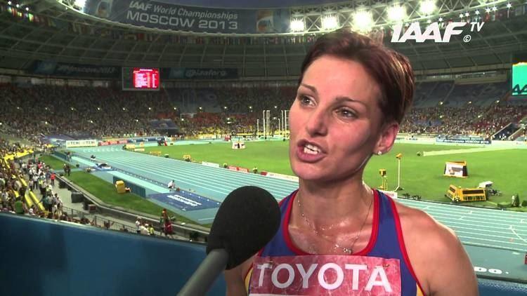 Ancuța Bobocel Moscow 2013 Ancuta BOBOCEL ROU 3000m Steeplechase Women Final