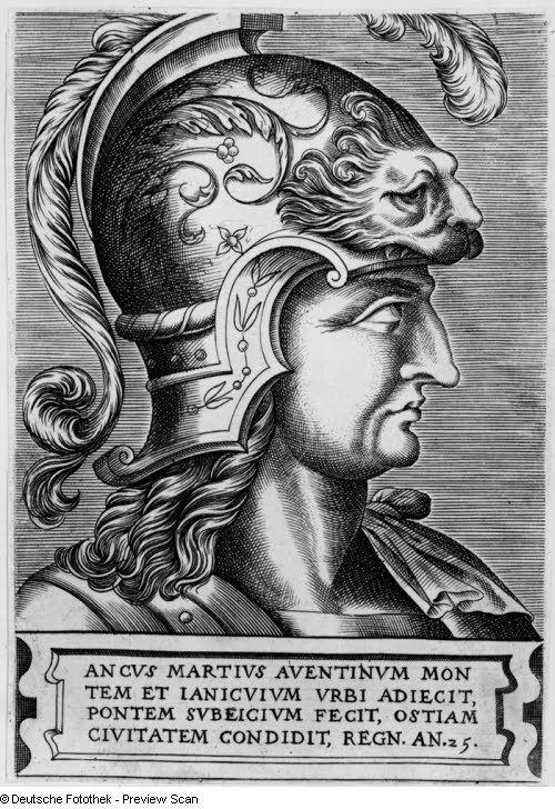 Ancus Marcius Ancus Marcius NCS LatinEtymology