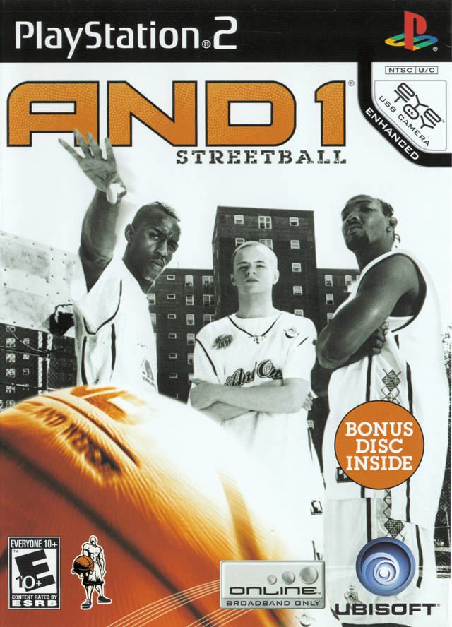 AND 1 Streetball And 1 Streetball Box Shot for PlayStation 2 GameFAQs