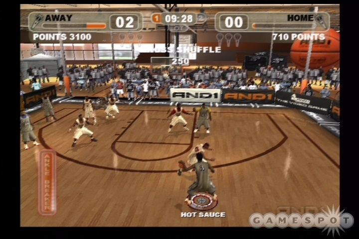 AND 1 Streetball And 1 Streetball Review GameSpot