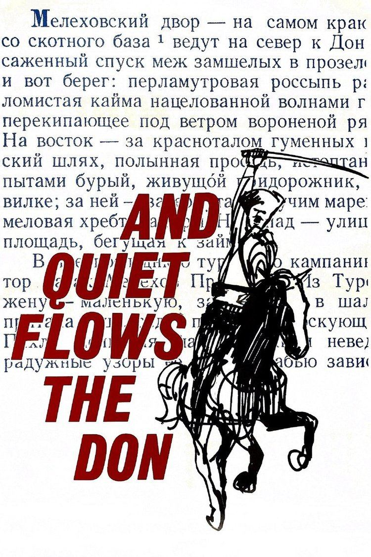And Quiet Flows the Don (film) wwwgstaticcomtvthumbmovieposters129304p1293