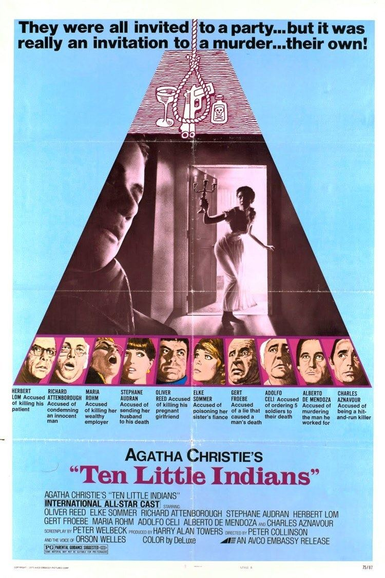 And Then There Were None (1974 film) wwwgstaticcomtvthumbmovieposters4201p4201p