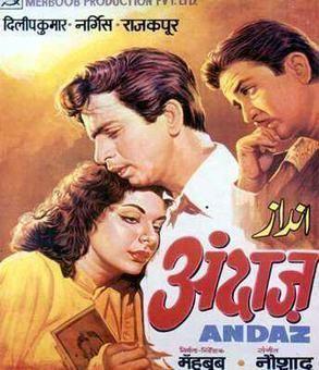 Andaz (1949 film) httpsuploadwikimediaorgwikipediaenbb3And