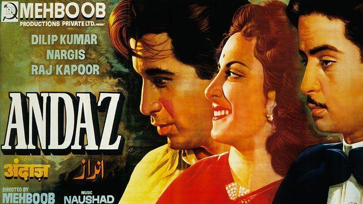 Andaz (1949 film) ANDAZ 1949 Full Movie Dilip Kumar Raj Kapoor Nargis Classic