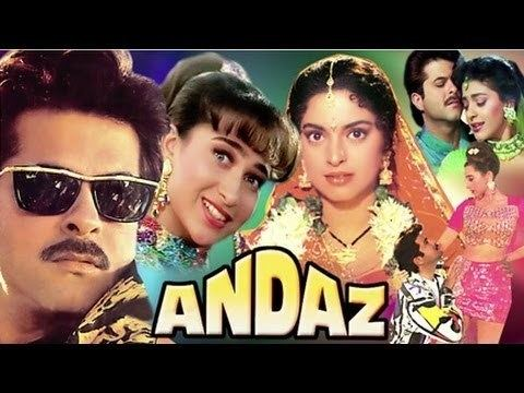 Andaz (1994 film) Andaz Trailer YouTube