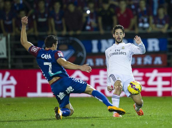 Ander Capa Isco and Ander Capa Photos SD Eibar v Real Madrid CF