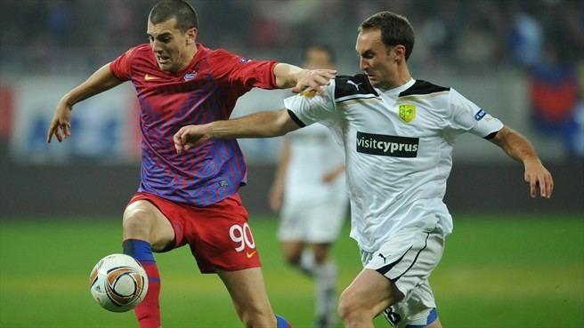 Ander Murillo Stefan Nikoli FC Steaua Bucureti amp Ander Murillo AEK