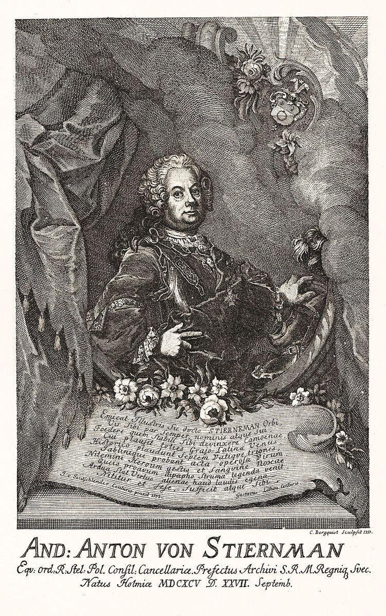 Anders Anton von Stiernman
