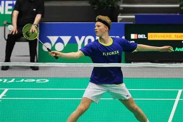 Anders Antonsen European Junior Champion eases into main draw