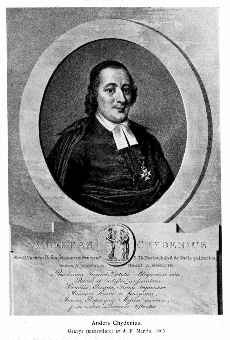 Anders Chydenius Anders Chydenius Svenskt Biografiskt Lexikon