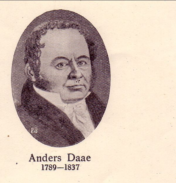 Anders Daae Anders Daae 1789 1837 Genealogy