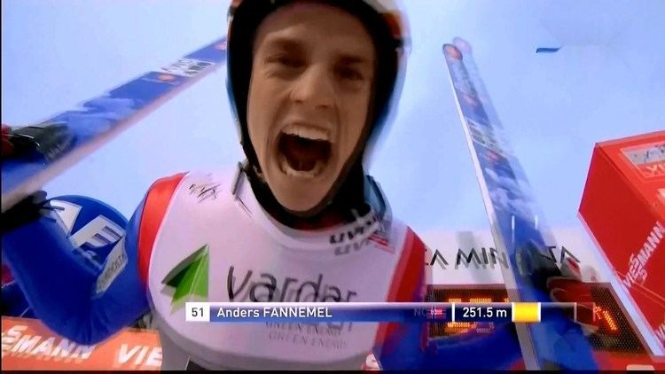 Anders Fannemel Ski Jumping New World Record Anders Fannemel 2515