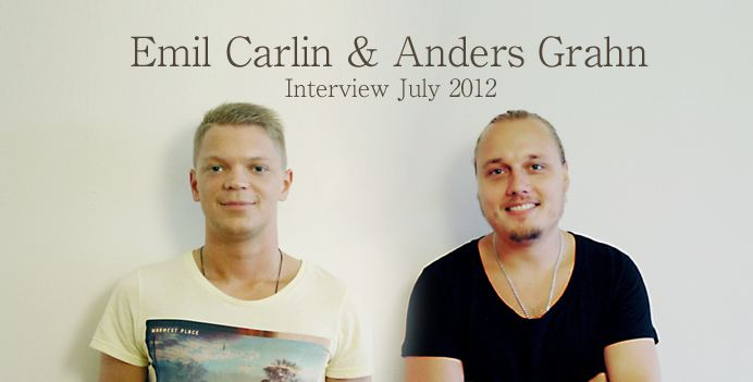 Anders Grahn Emil Carlin and Anders Grahn Interview Soundgraphics