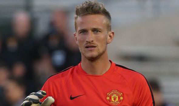 Anders Lindegaard Sevilla join race for Man Utd39s thirdchoice goalkeeper