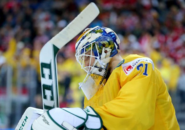 Anders Nilsson (ice hockey) Anders Nilsson Photos Austria v Sweden 2015 IIHF Ice