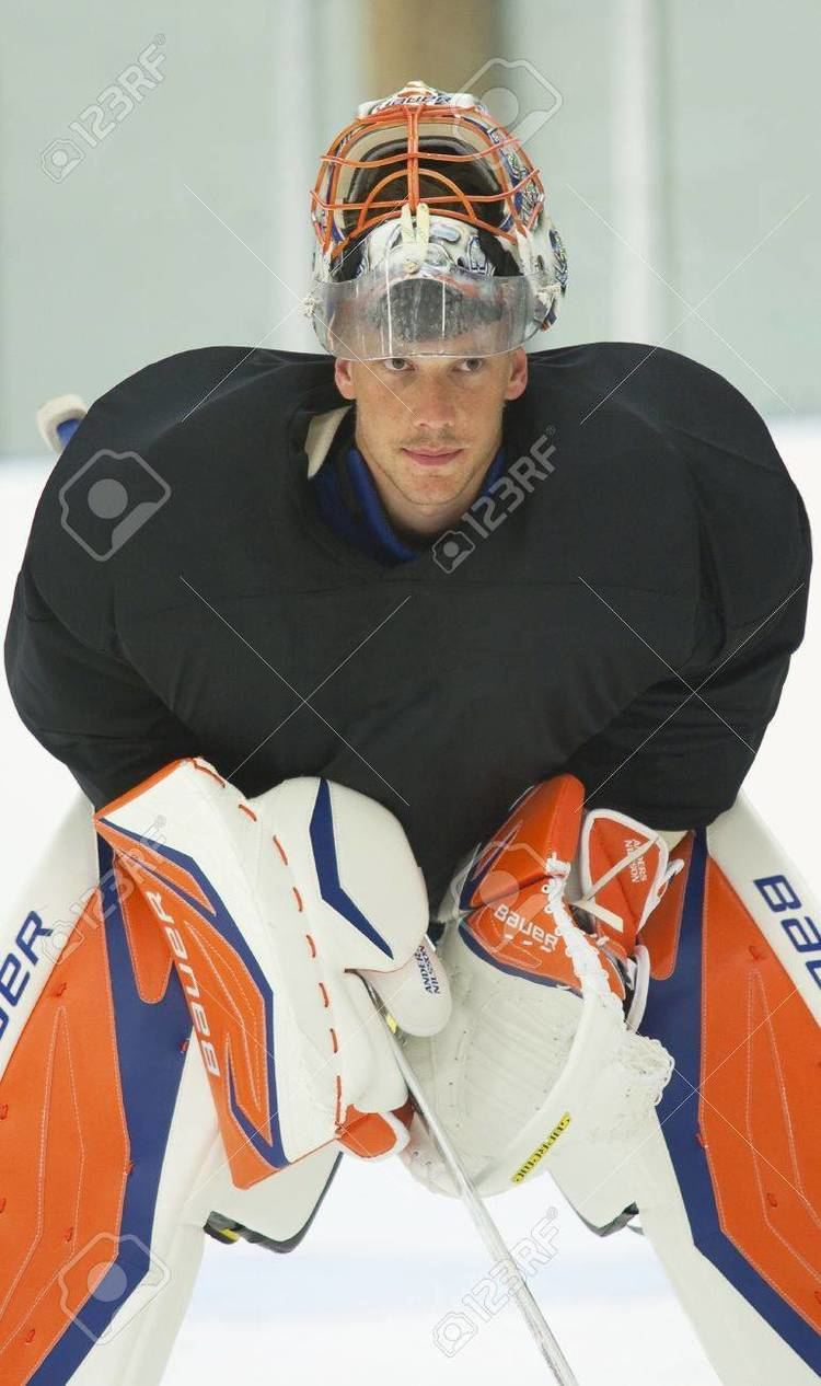 Anders Nilsson (ice hockey) Anders Nilsson New York Islanders Summer Camp In