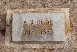 Anders Rudolph Rude Rev Anders Rudolph Rude 1812 1883 Find A Grave Memorial