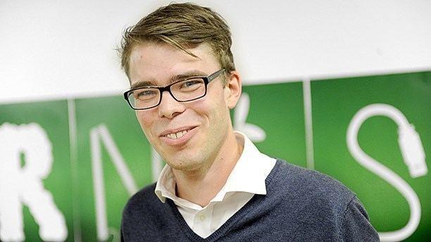 Anders Wallner Anders Wallner ny partisekreterare i Miljpartiet