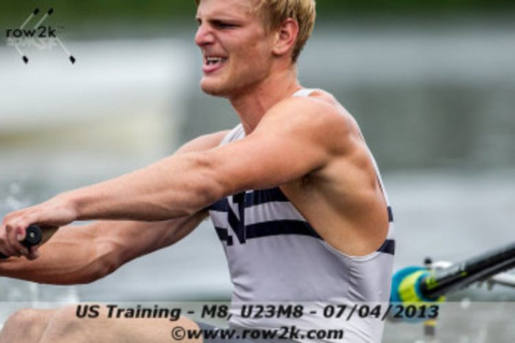 Anders Weiss Barrington resident rowing in world championships EastBayRIcom