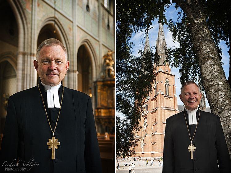 Anders Wejryd Anders Wejryd rkebiskop Portrtt av fotograf Fredrik Schlyter