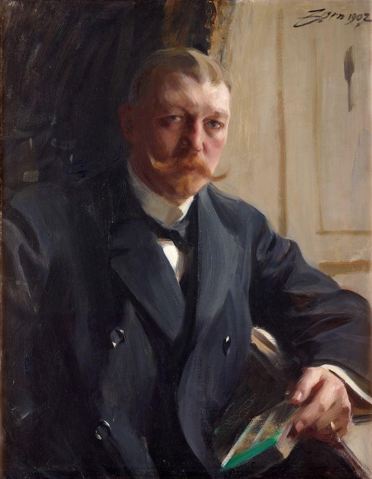 Anders Zorn FilePortrait of Franz Heiss by Anders Zorn 1902jpg