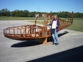 Anderson Kingfisher Cost to Transport a Anderson Kingfisher Aircraft Wooden Fusalage