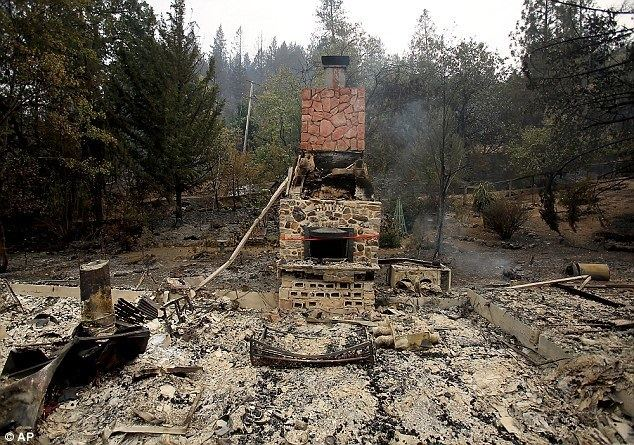 Anderson Springs, California Disabled Grandmother who died in California fire had no way to get