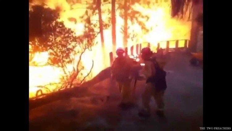 Anderson Springs, California TERRIFYING CALIFORNIA FIRES Anderson Springs Cobb amp Lake
