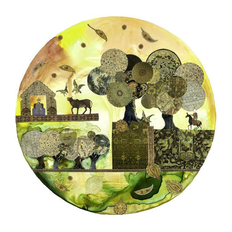 Andi Arnovitz A collage of nuclear art The Times of Israel