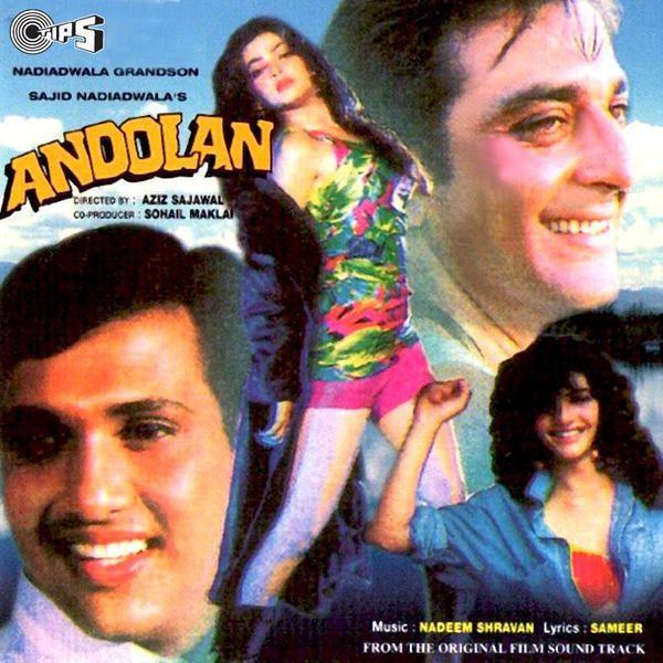 Andolan (1995 film) httpswwwsongsmp3coassetsimages132242Ando