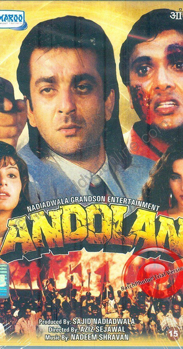 Andolan (1995 film) httpsimagesnasslimagesamazoncomimagesMM