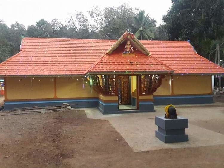 Andoor Kandan Sree Dharma Sastha Temple, Tholady