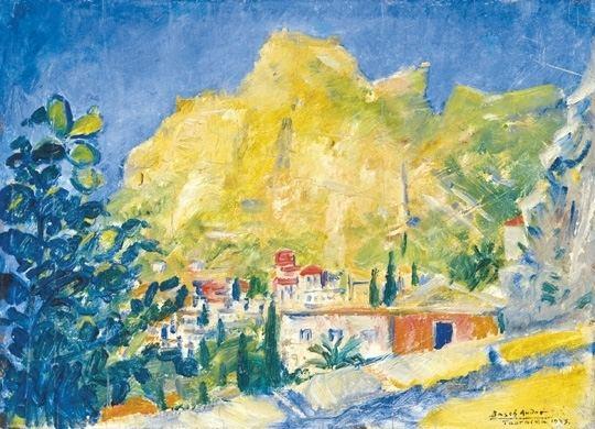 Andor Basch Andor Basch Hungarian 18851944 Taormina 1923 Paintings 2